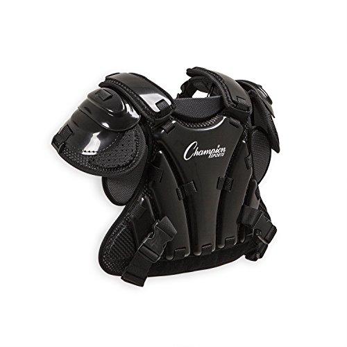 Champion Sports Umpire Chest Protector: 3 Millimeter Thick Plate Armor Softball & Baseball Equipment