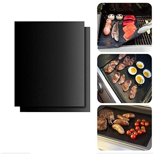"""Two-Pack 100% Non-Stick 11"""" Toaster Oven Liner. Finally, Prevent Spillovers, Gunk & Odors! Great Teflon Liner for Toaster Ovens, Dishwasher Safe, Best Toaster Oven Accessories."""