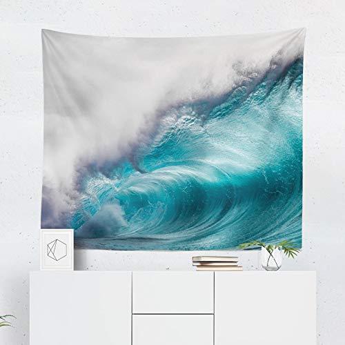 59.1x39.4 Inch Wave Tapestry Ocean Tapestry Wave Wall Hanging Ocean Wall Decor Surf Tapestry Surf Wall Decor Ocean Wall Art