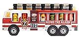 Modern Gourmet Foods - Scharfe Saucen - Hot Sauce Geschenkbox - 7 Geschmacksrichtungen - Weihnachtsset - Feuerwehrauto