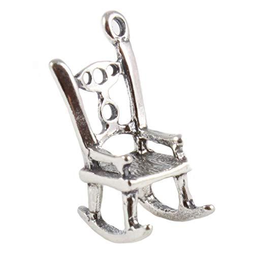 Sterlingsilber Schaukelnd Stuhl Charm