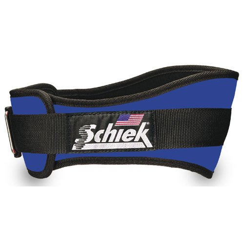 Schiek Shape That Fits Lifting Belt 4-3/4in W x 44in-50in Waist (Royal Blue) (2X-Large)