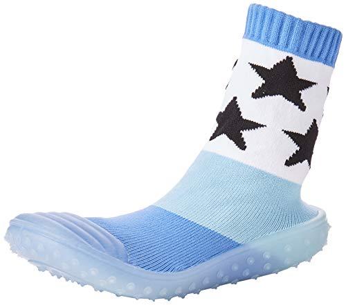 Sterntaler Baby-Jungen Adventure Socken, Blau (Tintenblau Mel. 376), 21/22