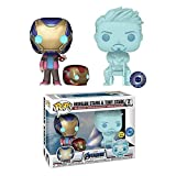 ¡Música Pop! Vinilo Marvel Movies # 2 Morgan Stark & Tony Stark (2 Unidades) Colección De Figuras De Acción Modelo Decoración Muñeca Juguetes Que Brillan En La Oscuridad Regalos para Niños