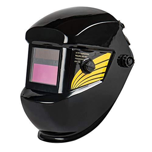 H HILABEE Casco de Soldadura Escudo de Soldadura MIG TIG Tapa de Soldador Sombra Oscurecimiento Automático