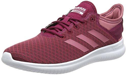 adidas Damen Cloudfoam QT Flex Gymnastikschuhe, Pink (Mystery Ruby F17/Trace Maroon/Maroon), 37 1/3 EU