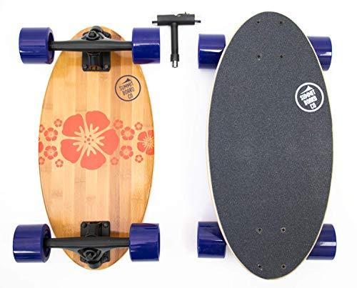 Short Longboard - Summit Board Co - Mini Longboard Cruiser (Lei)