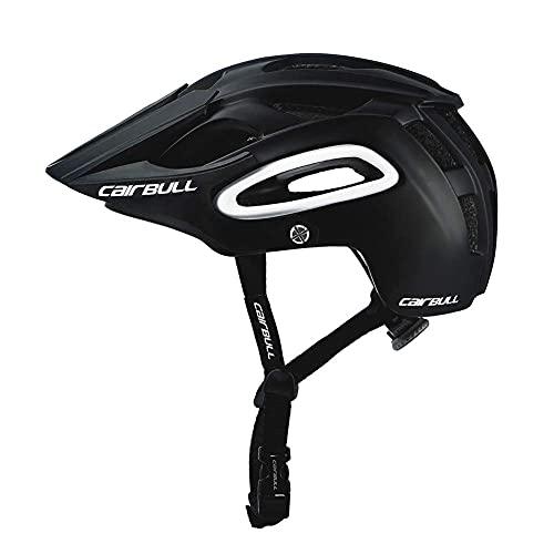 Casco para Bicicleta, Casco para Bicicleta especializado, Casco de Seguridad para Deportes All-Terrai MTB, Casco cómodo y liviano, A