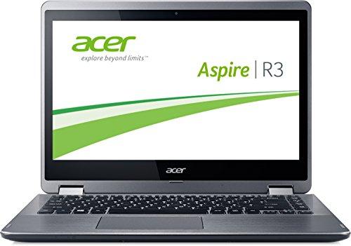 Acer Aspire R3-471T-394N 35,6 cm (14 Zoll HD) Laptop-PC (Intel Core i3-4030U, 1,9GHz, 8GB RAM, 1000GB HDD, Intel HD Graphics 4400, Touchscreen, Win 8.1) silber