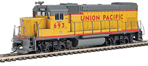 Walthers Trainline HO Scale Model EMD GP15-1 - Standard DC - Union Pacific(R) (Yellow, Gray, Red)