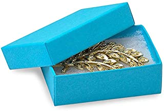 Miller Supply, Inc. Eco Tone Jewelry Boxes - 2-7/16x1-5/8x13/16 Blue Jazz Eco Tone Jewelry Boxes (100 Boxes) - WRAPS-4BJ