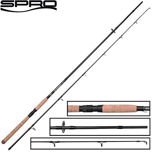 Spro Xrossover H 2,70m 20-60g - Spinnrute zum Zanderangeln & Hechtangeln mit Kunstködern, Angelrute zum Spinnfischen, Jigrute