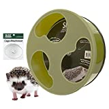 Exotic Nutrition Silent Runner 12' Wide + Cage Attachment (NO Stand) - Silent, Fast, Durable Exercise Wheel - Sugar Gliders, Degus, Rats, Hedgehogs, Prairie Dogs & Small Pets