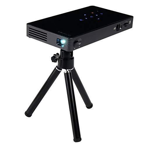 ZTBGY Multi-función del proyector, proyector portátil de Mano Inteligente Mini Inicio 4K HD 1080P del teléfono móvil Pantalla de proyección Proyección