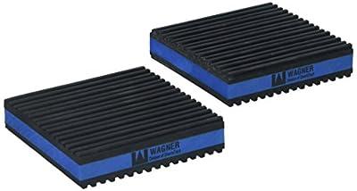 """Diversitech MP4-E E.V.A. Anti-Vibration Pad, 4"""" x 4"""" x 7/8"""" Pack of 4"""