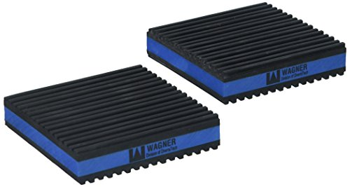 "Diversitech MP4-E E.V.A. Anti-Vibration Pad, 4"" x 4"" x 7/8"" Pack of 4"