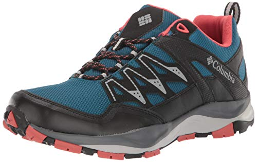 Columbia WAYFINDER Outdry, Zapatos Multideporte para Mujer, Azul (Lagoon, Coral 457), 38.5 EU