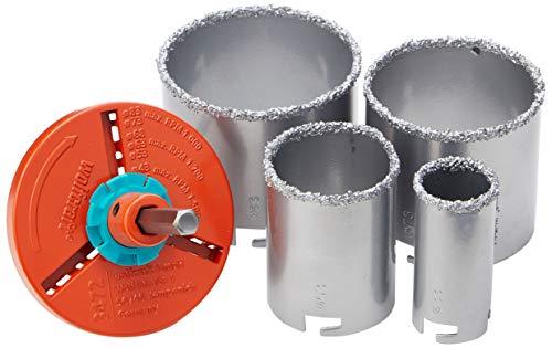 Wolfcraft 3478000 scie trépan 4l diamètre 33/53/73/83 mm
