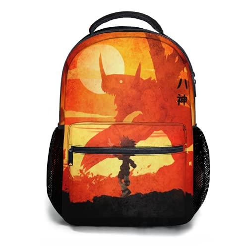 Toplived Suzaku Kururugi Code Geass Mochila para niños, mochila para estudiantes, 47 cm, Colorido 12, Talla única
