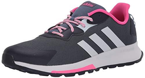 adidas Quesa Trail X, Zapatillas Mujer, Legacy Blue Dash Gris Shock Rosa, 40 EU