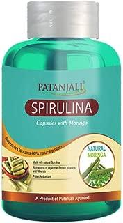Patanjali Spirulina Capsule with Moringa 60 Tablets