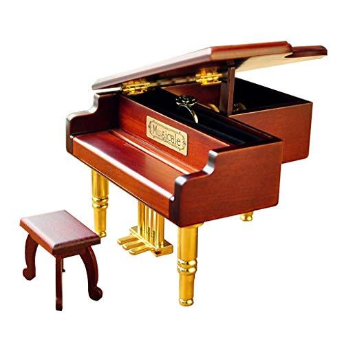 YIXIN2013SHOP Spieluhr Musical Box Piano Model Music Box Musikliebhaber Spieluhren Schmuckkästchen