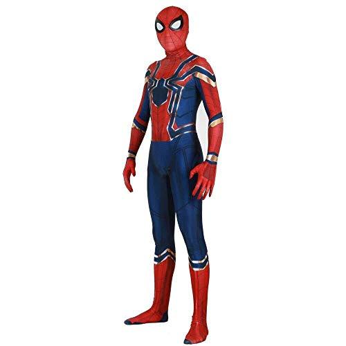 Hcxbb-b Spiderman Fantasie, Halloween Erwachsene Masquerade Kostüm Cosplay (Farbe : Child, Size : XX-Large)