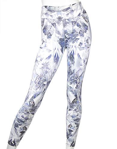 EVCR Kompressionsleggings für Damen, 7/8-Länge, nicht durchsichtig, weiche Sporthose, Yogahose für Workouts - mehrfarbig - X-Klein