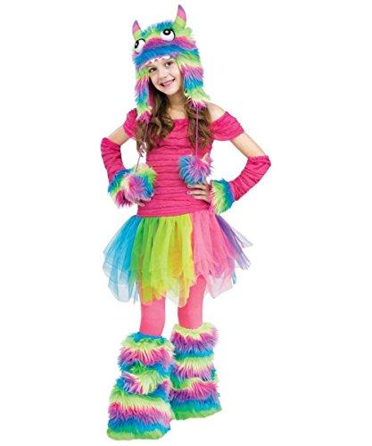 Rockin' Rainbow Girls Monster Costume (Large (12-14))