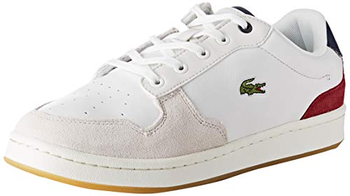 Lacoste Damen Masters Cup 319 2 SFA Sneaker, Weiß (Off Wht/NVY/Dk Red Ond), 38 EU
