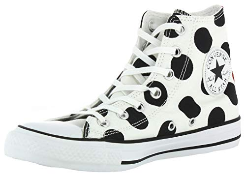Converse Converse Damen Ctas Hi Sneakers, Weiß (White/Black/White), 39.5 EU