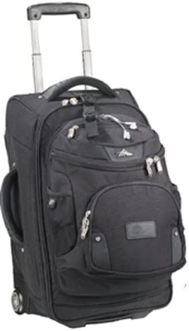 High Sierra 22 Wheeled Carry On Luggage with Removable DayPack Black by High Sierra product image