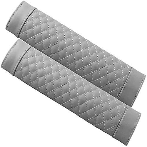 KLMP Funda para Cinturón De Seguridad para Niños, Dispositivo De Protección para Cinturón Ajuste Universal Y Excelente Comodidad,Grey