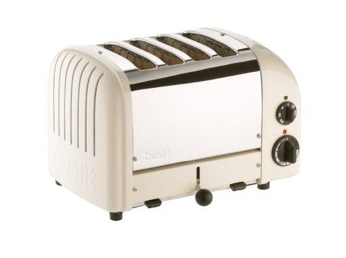 Dualit 47045 New Generation Vario Toaster 4-Schlitz, canvas weiß