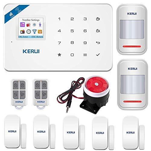 KERUI W18 Only 2.4G WIFI+GSM Wireless Smart Burglar Security Alarm System...