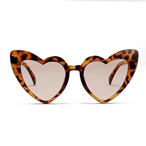 Gafas duraderas Gafas de Sol del corazón de Las Mujeres diseñador de la Marca de Ojo de Gato Gafas de Sol Retro del Amor del corazón Shaped Glasses Gafas de Señoras de Las Compras del Controlador