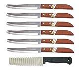 Kiwi Thai 502 - Juego de 6 Cuchillos para Cortar Verduras, Fruta y Cocina