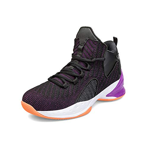 YSZDM Basketbalschoenen, antislip, slijtvast, schokabsorberend, herensportschoenen, ademend, deodorant, outdoor hardloopschoenen