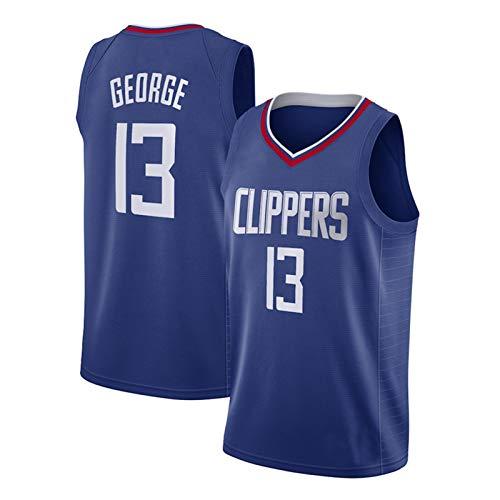 DDOYY George # 13 Clippers - Chaleco de baloncesto para interiores y exteriores, diseño de camiseta de baloncesto