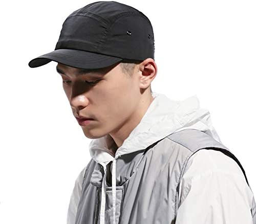 Clape Baseball Cap Quick Dry Sun Hat Anti Sweat Sunscreen Trucker Hat GD51 Black product image
