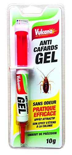 VULCANO GEL ANTI- CAFARDS PRATIQUE EFFICACE SANS ODEUR