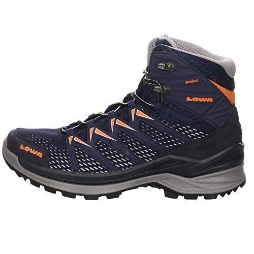 Lowa Herren Boots Innox pro GTX mid Wanderschuh Kombi blau Gr. 45