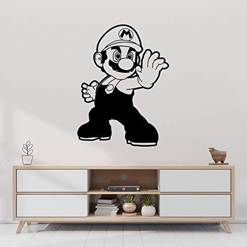 wZUN Superhéroe Wall Decal Game Sticker Gamer Sala de Juegos Wall Art...