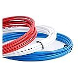 Kit de cable de freno Cable 3M para bicicletas Cambio de bicicletas Desviador de cámaras de freno de desviador Tubo de cable de cambio 4mm / 5mm MTB Tubo de la línea de la línea del cable del freno de