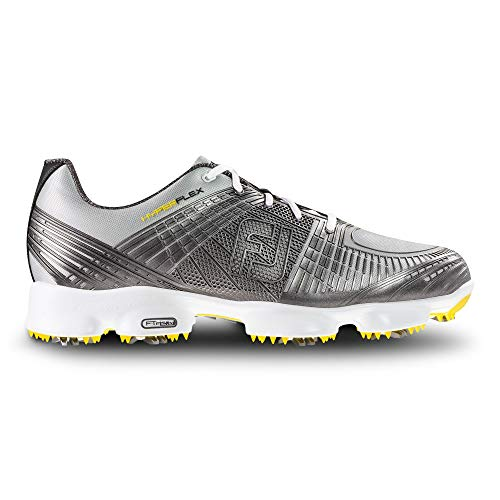 FootJoy Men's Hyperflex II-Previous Season Style Golf Shoes Silver 8.5 M US