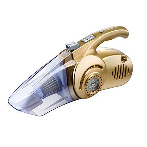 Aspirateur De Voiture Filaire Multi-Fonction Humide Et Sec 12V 120 W Pneumatique Pompe À Pneus De La Lumière LED