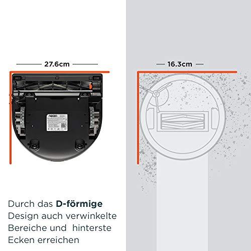 Neato Robotics Botvac D602 Connected – Saugroboter Alexa kompatibel & für Tierhaare – Automatischer Staubsauger Roboter mit Ladestation, Wlan & App - 6