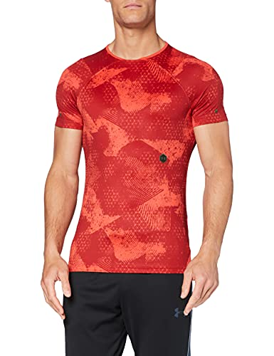 Under Armour 1327641 - T-Shirt Homme - Rouge (Martian Red/Black (646)) - M