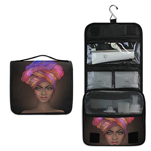 Trousse de toilette multifonction pour femme et fille - Trousse de maquillage - Sac de voyage à suspendre