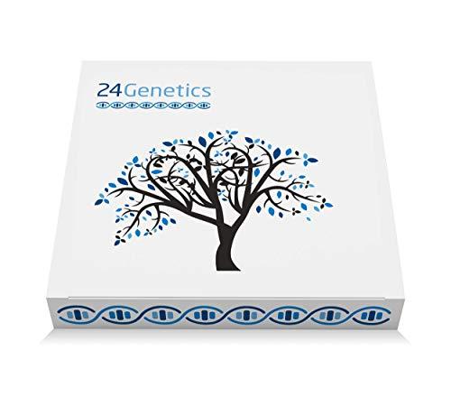 Kit per il Test del DNA 6 in 1: Salute, Nutrigenetica, Sport, Cura della Pelle, Farmacogenetica e Antenati - Analizza...